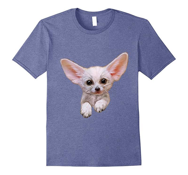 Cute Fennec Fox Cub T-Shirt-Art