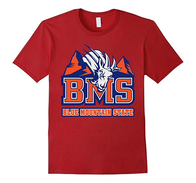 Blue Mountain State Goat House Logo Tshirt-RT