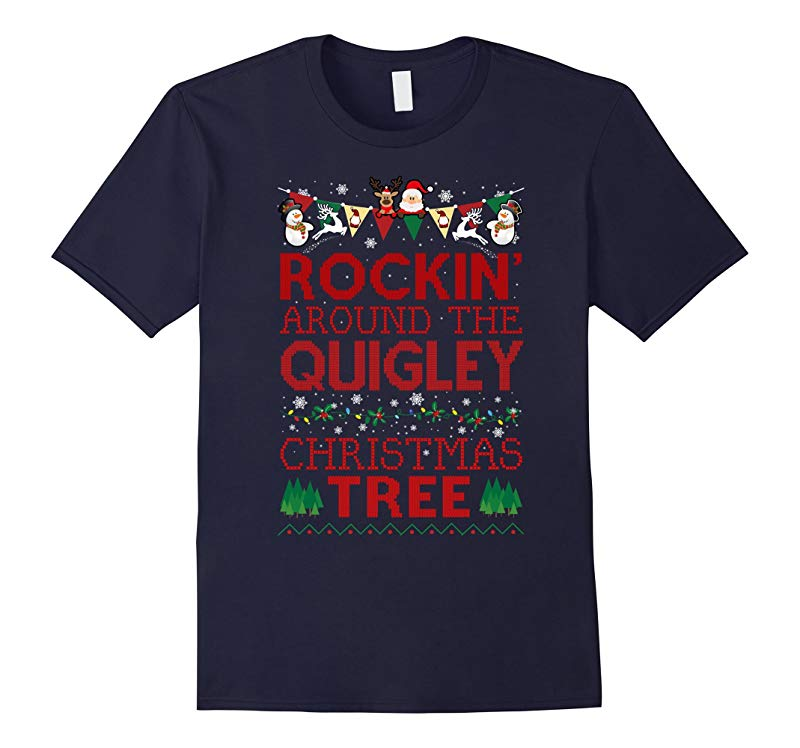 Quigley Family Christmas T-shirt-RT