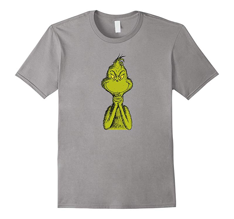 Dr. Seuss Classic Sly Grinch T-shirt-RT