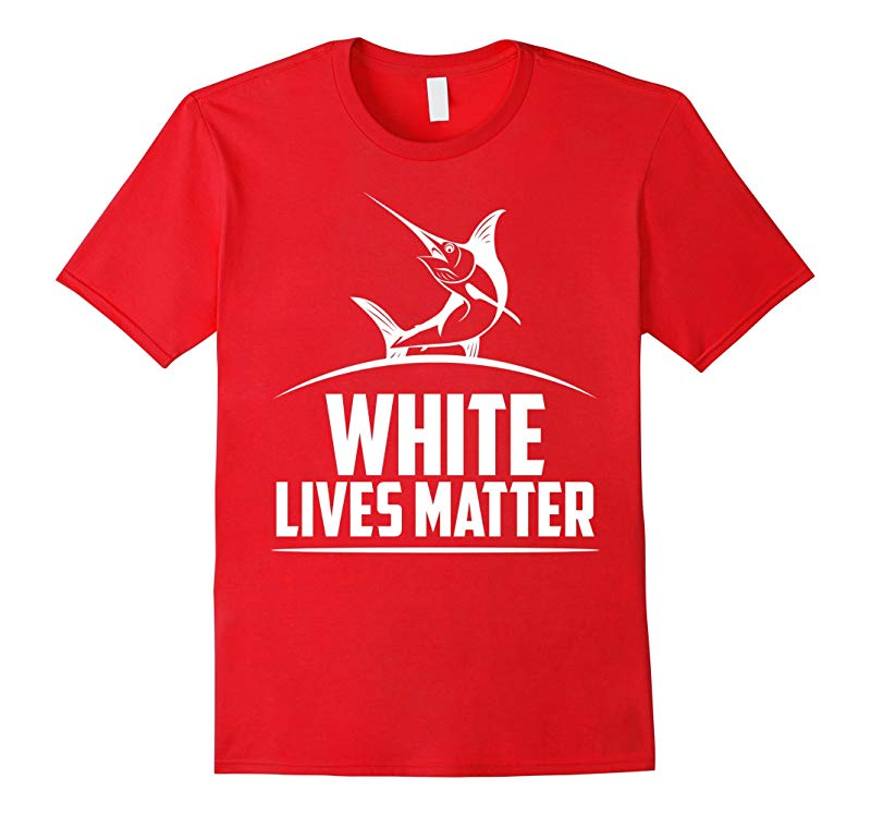 White Marlin lives matter T-shirt-RT