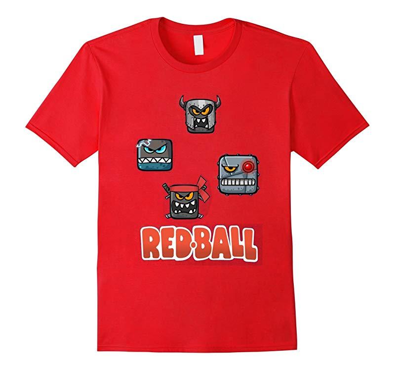 Red ball 4 Crazy T-shirt-RT