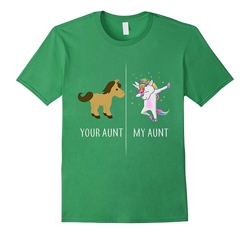 Your Aunt My Aunt Cute Unicorn T-Shirt Funny Aunt Shirts-TD