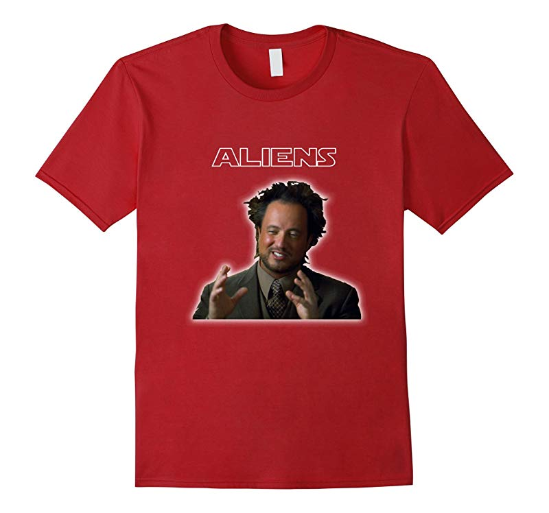Ancient Aliens Giorgio A Tsoukalos History Graphic Tee-RT