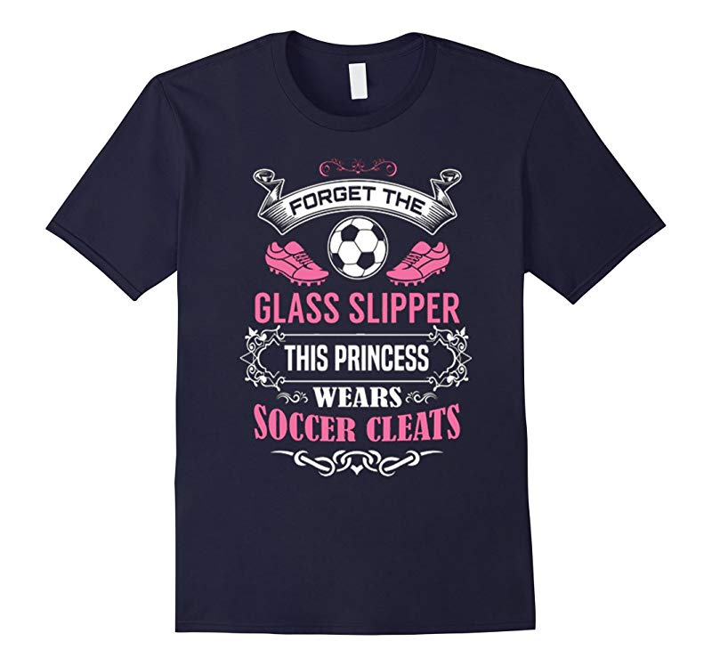 This Princess Wears Cleats Soccer T-Shirt-RT