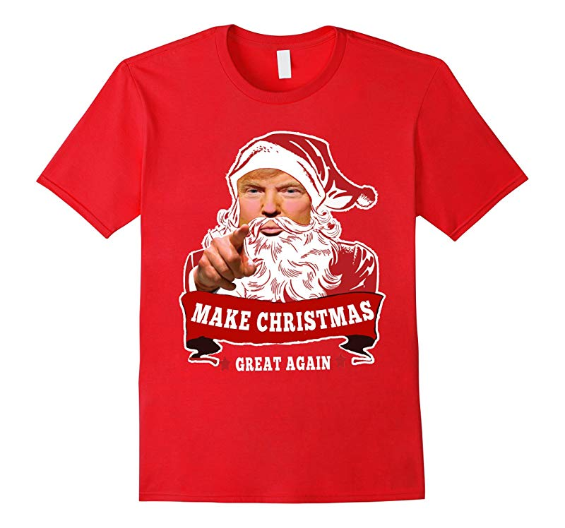 MAKE CHRISTMAS GREAT AGAIND ONAL TRUMP GIFTS T-SHIRT-RT