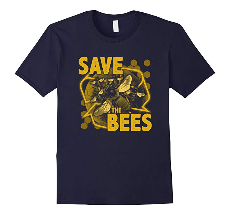 Save The Bees T-Shirt environment protection-RT