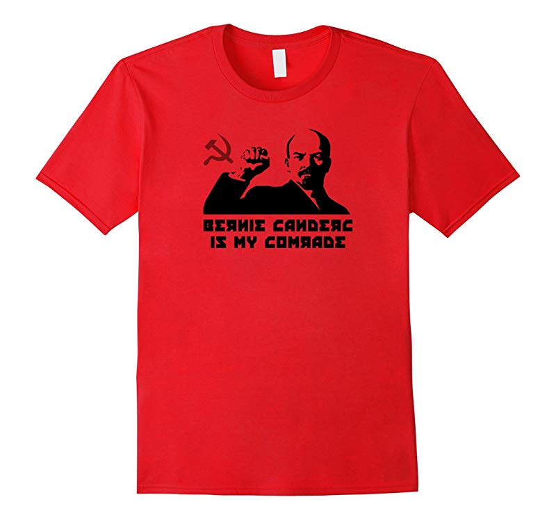 Lenin - Bernie Sanders Is My Comrade T-Shirt-RT