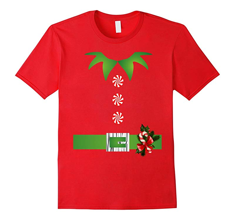 Cute Christmas Santa Helper Elf T Shirts-RT