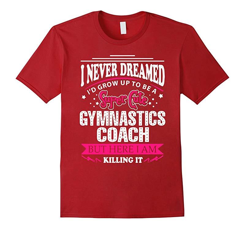 Gymnastics Coach Shirt Premium-RT