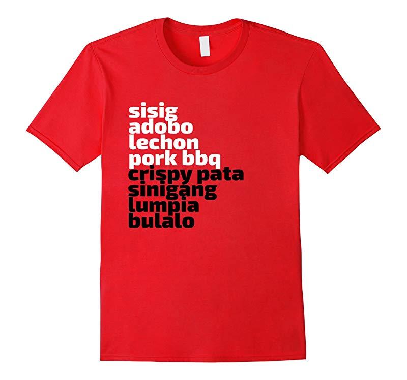 Filipino Food t-shirt Pinoy Tee-TJ