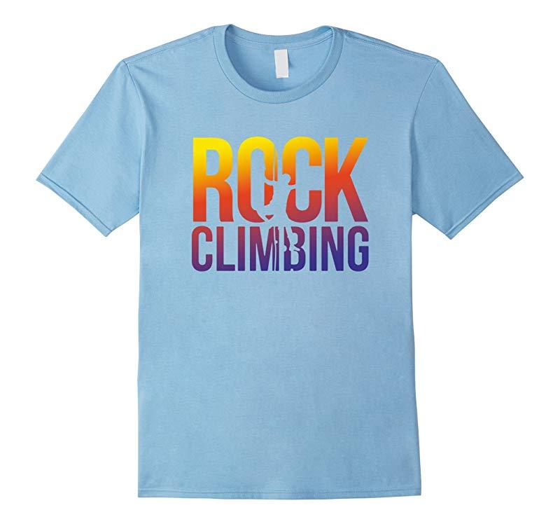 Rock tee Climbing Climb like a Girl T Shirt-RT