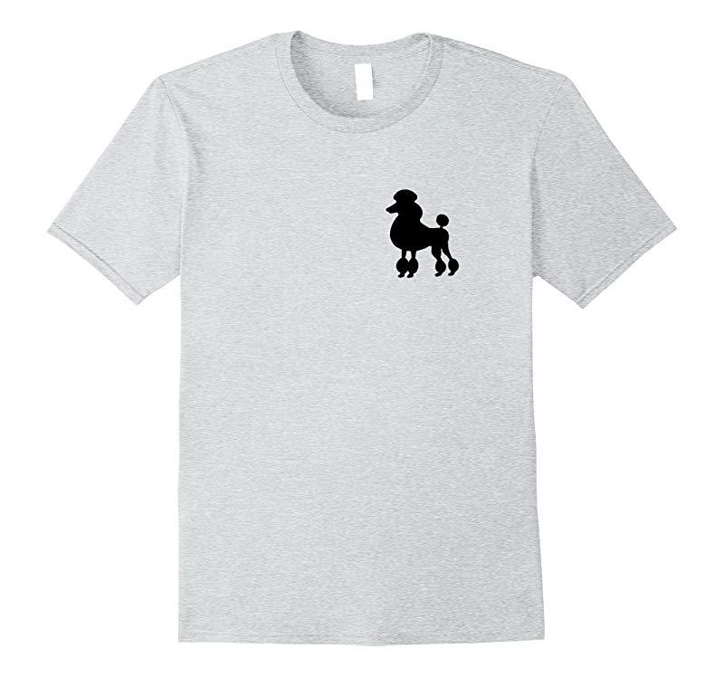 1950's Sock Hop Costume T-Shirt - Dog Cute Poodle Skirt-RT