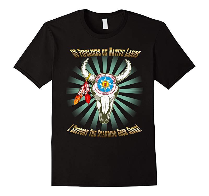Standing Rock Sioux Buffalo Steely Face-RT