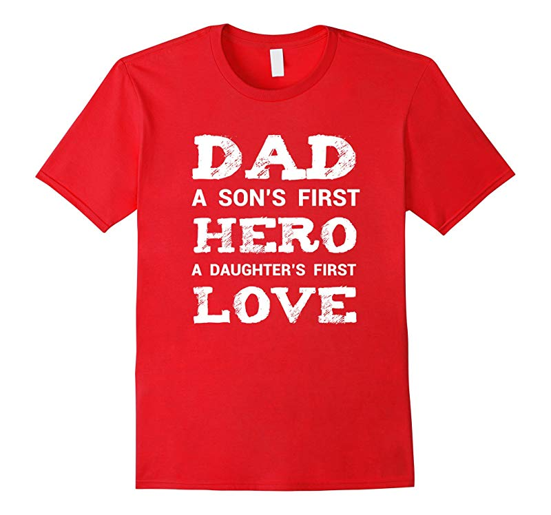 Cute Daddy Son Daughter Shirt New Dad Fathers Day Gift-RT