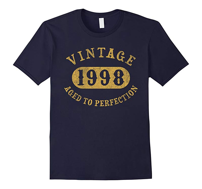 18 years old 18th Birthday B-day Gift Vintage 1998 T-Shirt-RT