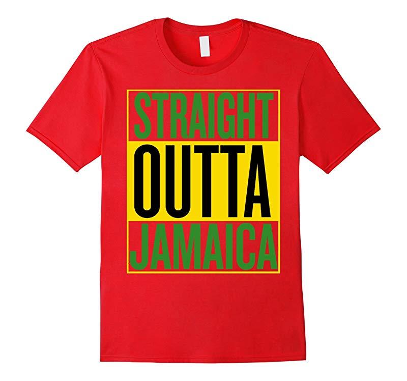 Straight Outta Jamaica Shirt - Jamaica T-shirt-RT