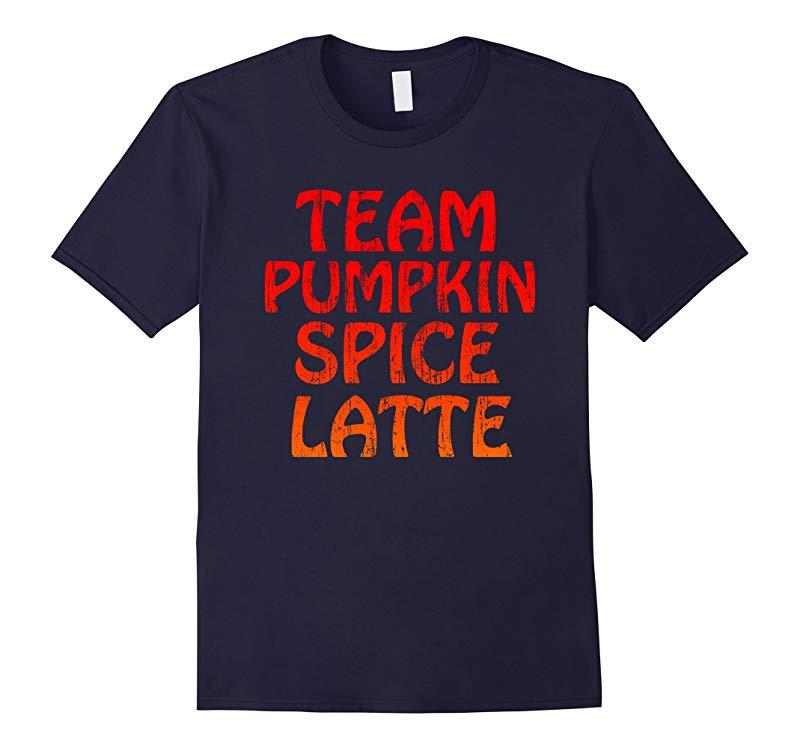 Halloween Pumpkin Spice Latte Fall Coffee Thanksgiving Shirt-RT