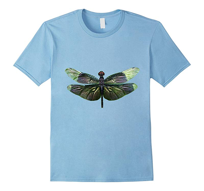 Colorful Dragon Fly Tee Shirt DRAGONFLY-RT