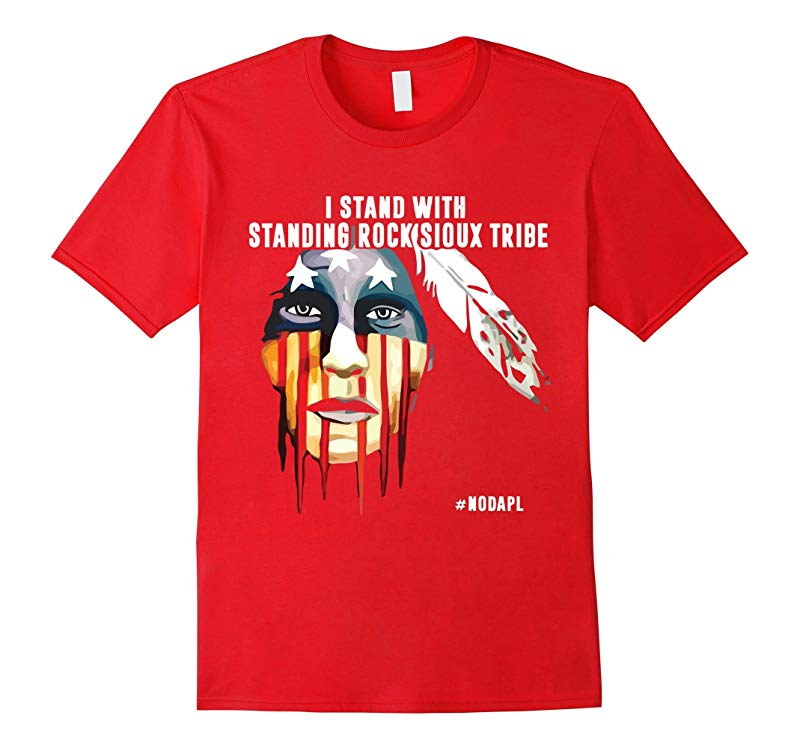 I Stand With Standing Rock Sioux Tribe T-SHIRT-RT