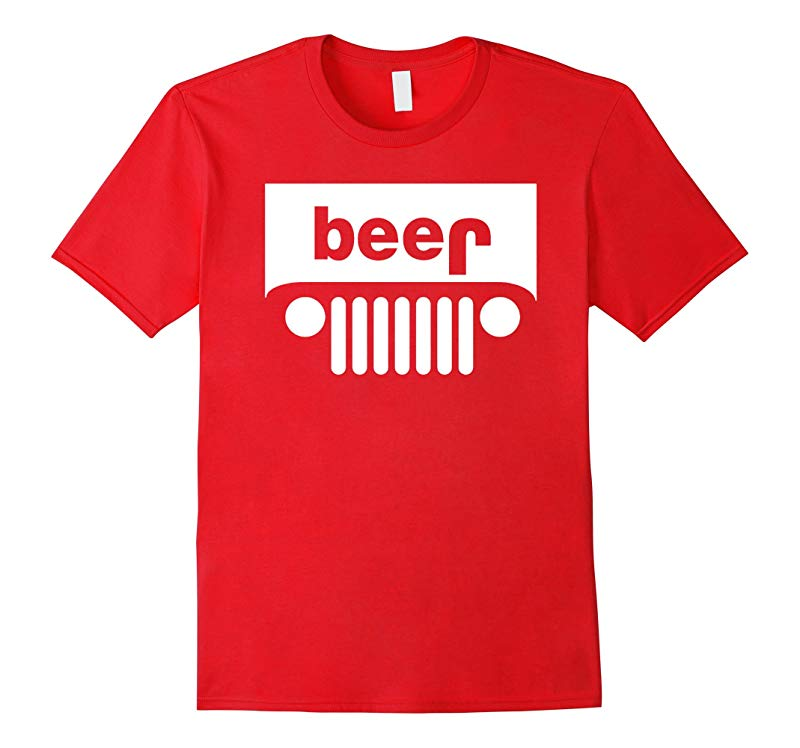 Jeep Beer Funny College Drinking T-Shirt - PREMIUM QUALITY-RT