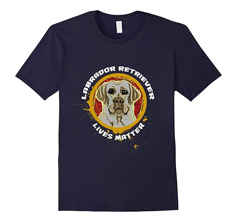 Golden Retriever Lives Matter Cool Parody Dog Lover T-shirt-RT