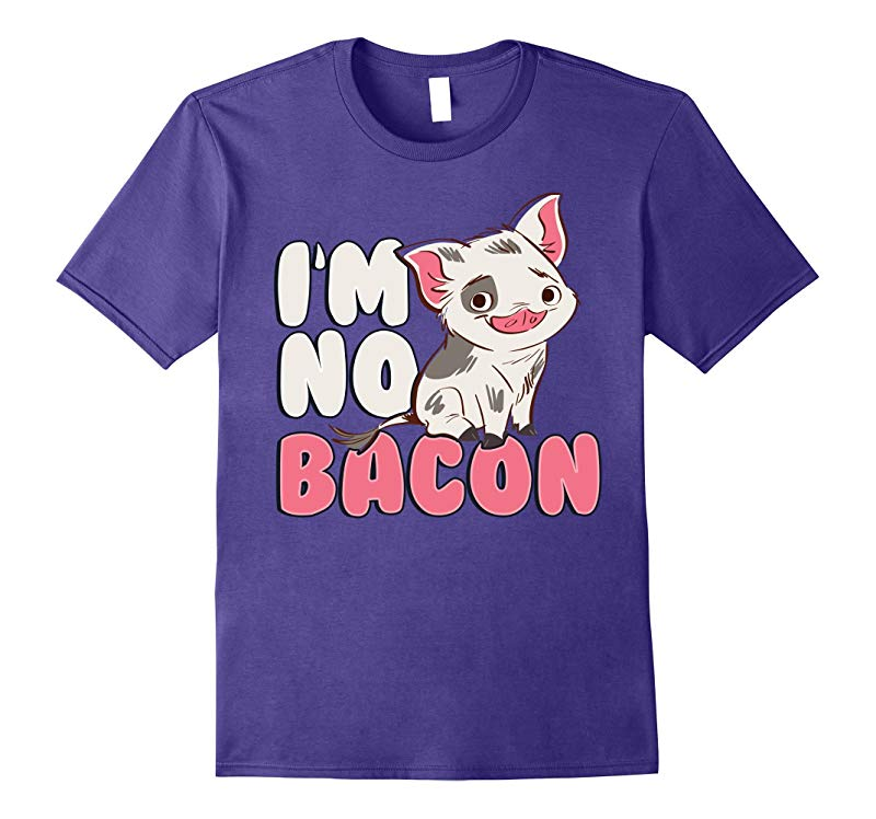 Disney Pixar Moana Pua Im No Bacon Graphic T-Shirt-PL