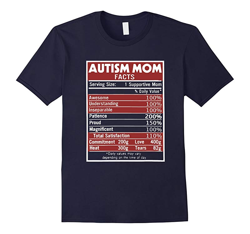 Autism Mom Facts T Shirt Perfect Gifts for your mom-RT