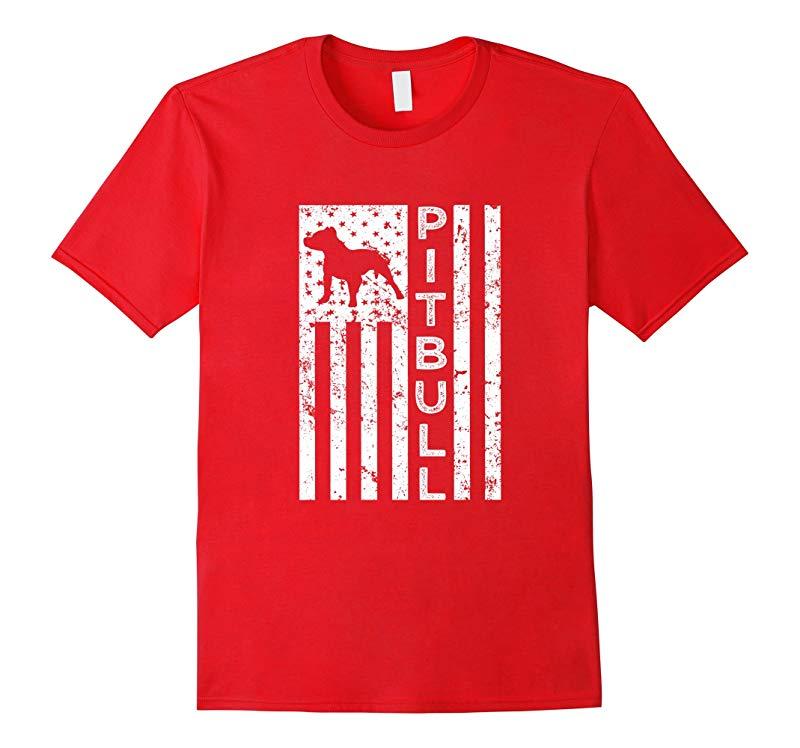 American Pitbull Dog saying shirt-BN