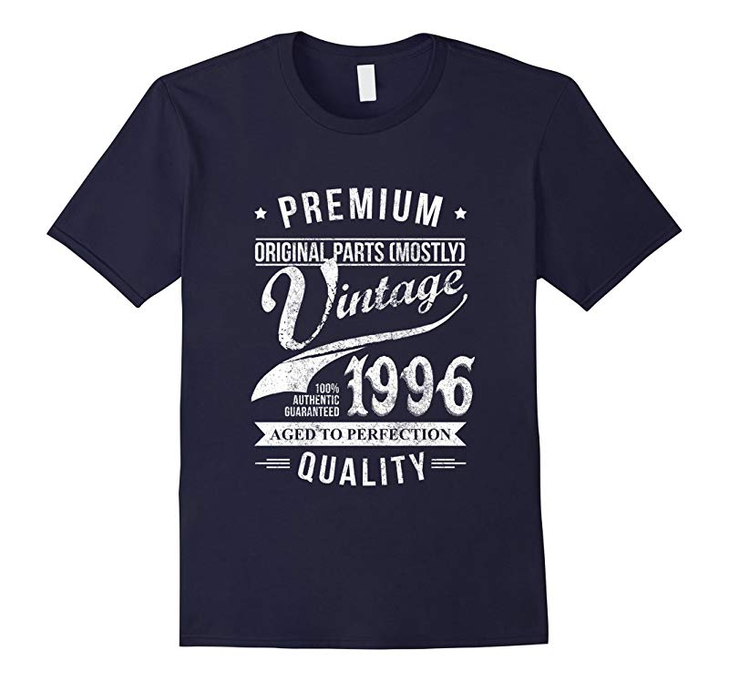 Vintage 1996 T-Shirt Cool Birthday Gift For 21 Years old-TD
