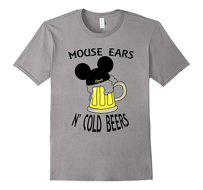 Mouse Ears N Cold Beers T-Shirt-RT