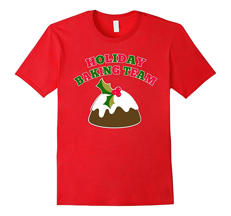 Holiday Baking Team T- Shirt by Scarebaby-RT