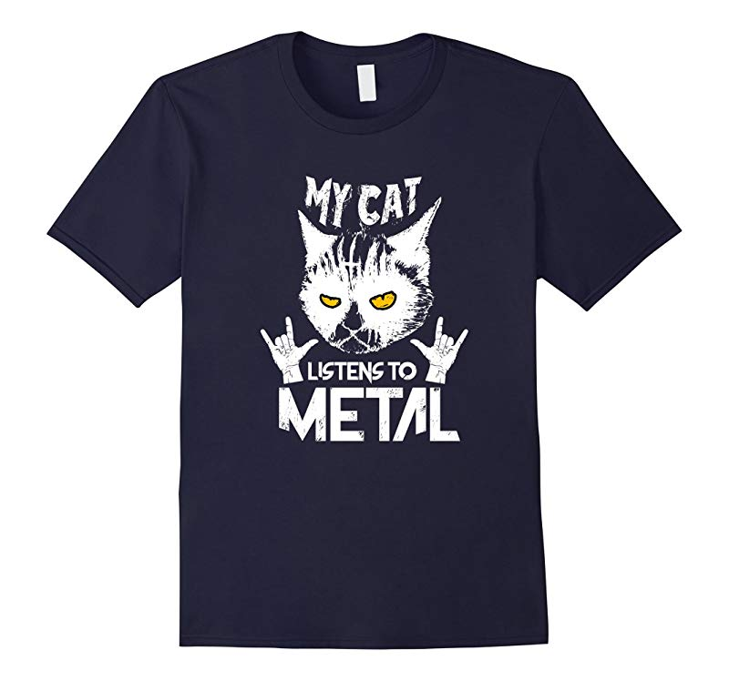 Heavy Metal T-Shirt with Cat-RT