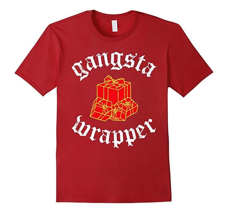 Christmas Shirt Gangsta Wrapper Shirt Premium-RT