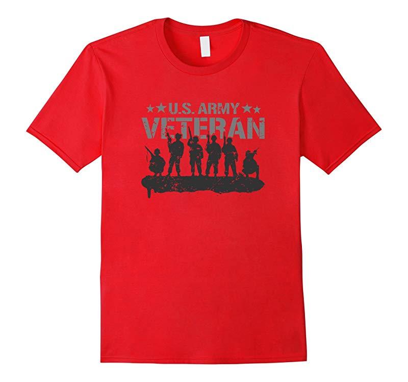 Army Tees US Army Veteran T-Shirt-RT