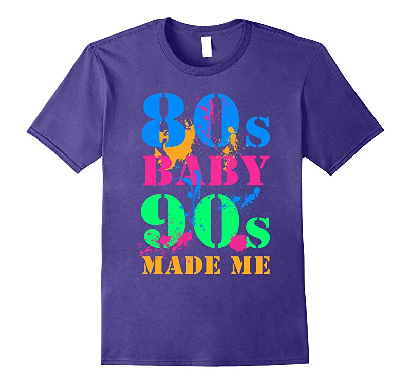 80S BABY 90S MADE ME VINTAGE RETRO T-SHIRT-CL
