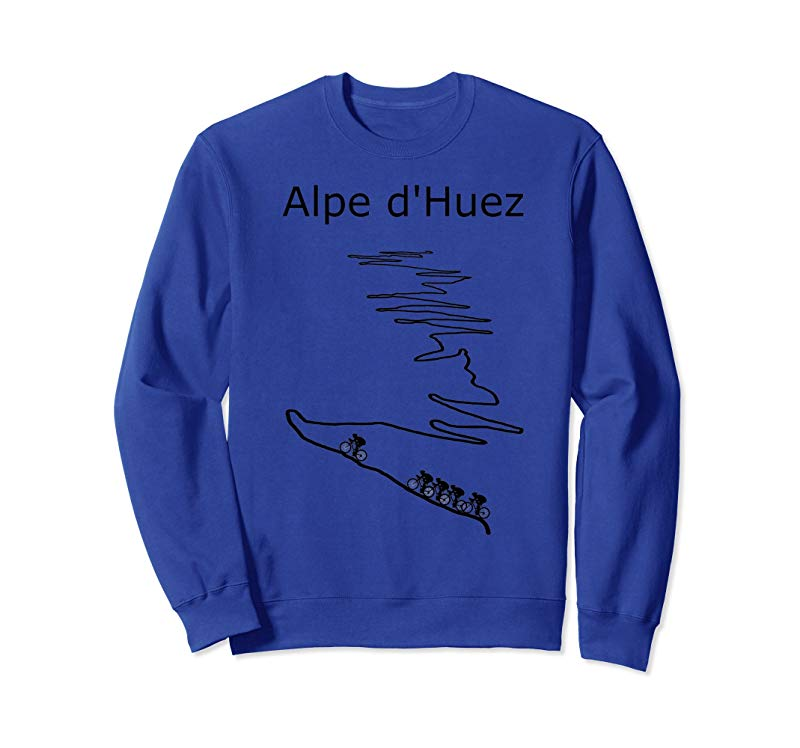 Alpe d Huez in France cycling shirt for men and women-mt