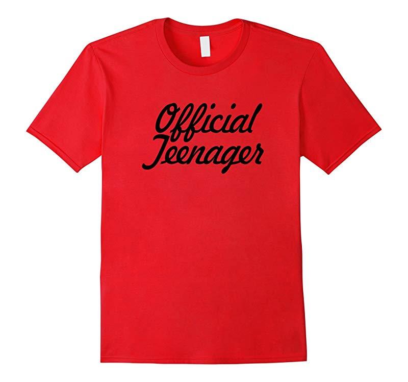 Official Teenager Tshirt Birthday Shirt 13th Thirteen Girls-RT