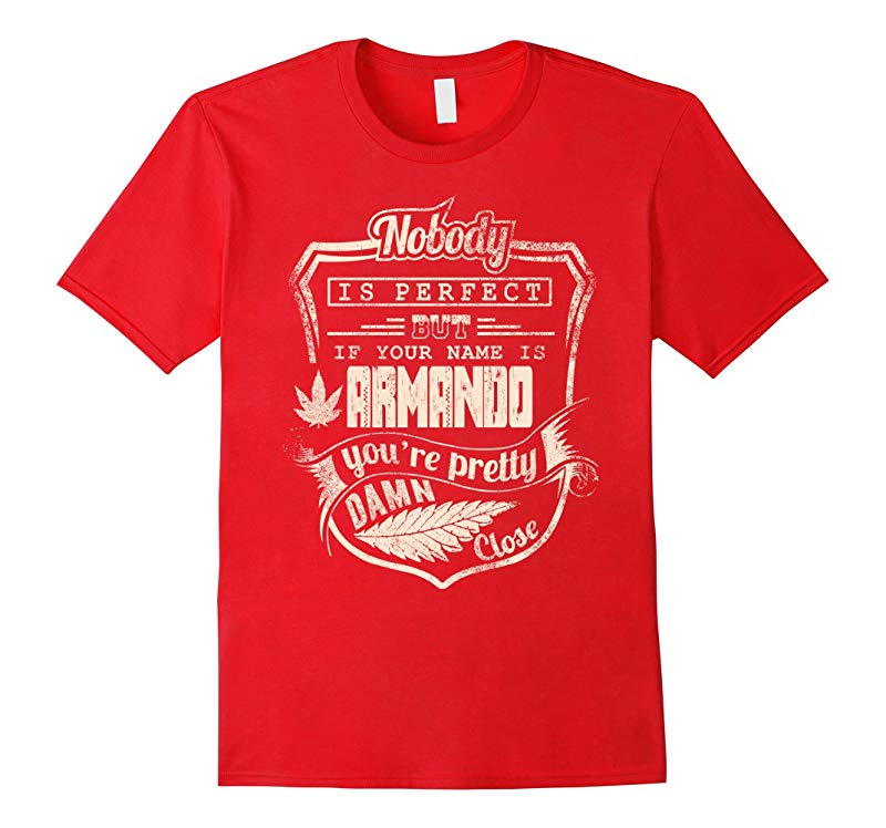 ARMANDO T-shirt Nobody is perfect but if your name is ARMAN-RT