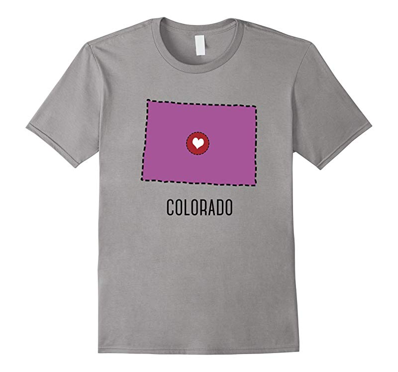 Colorado State Heart - Country T-Shirt-RT