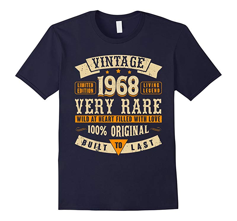 Vintage Made in 1968 49th Birthday 49 Years Old Awesome Gift-RT