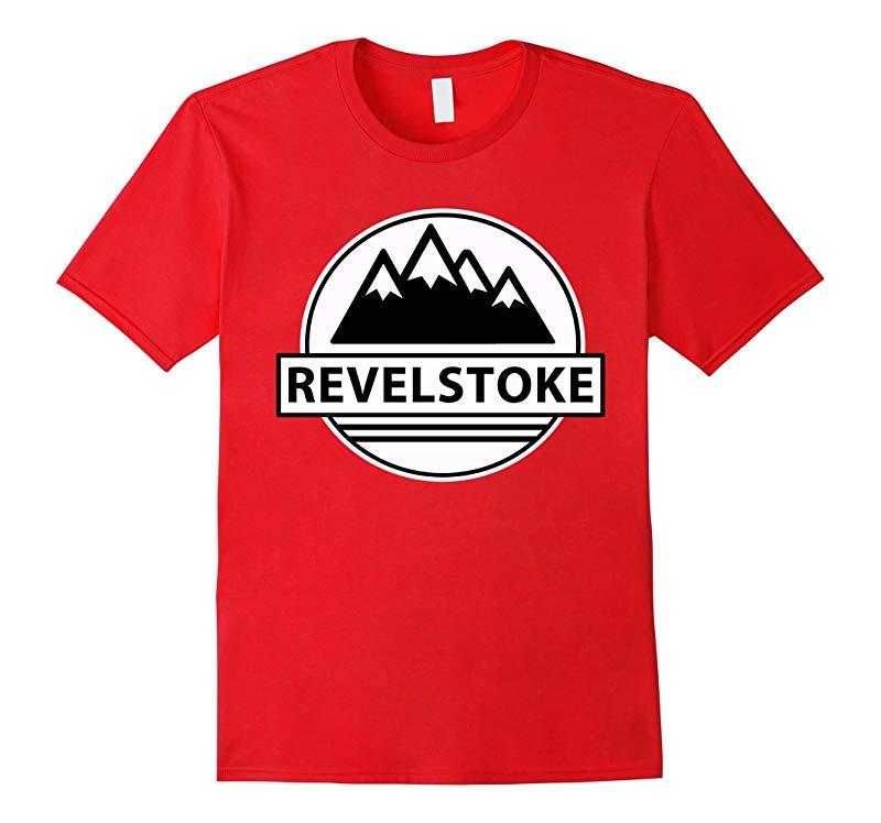 RevelStoke Snowmobile Tshirt Cool Saying Canada Sled-RT