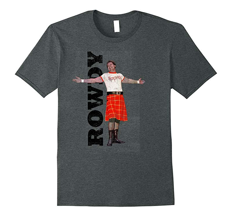 WWE Rowdy Roddy Piper Vintage Distressed T-Shirt-RT