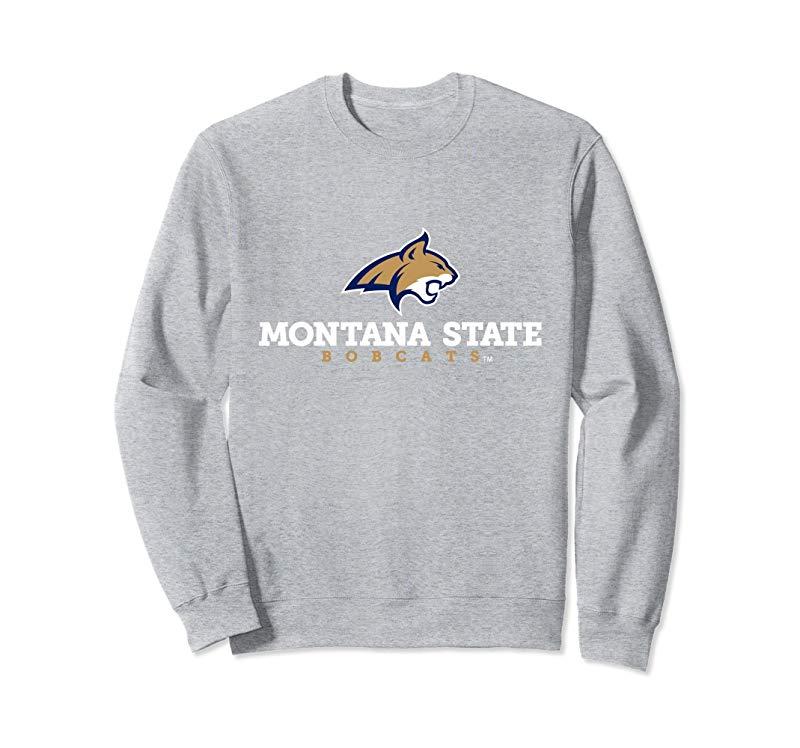 Montana State University Bobcats NCAA Sweatshirt PPMTS03-mt