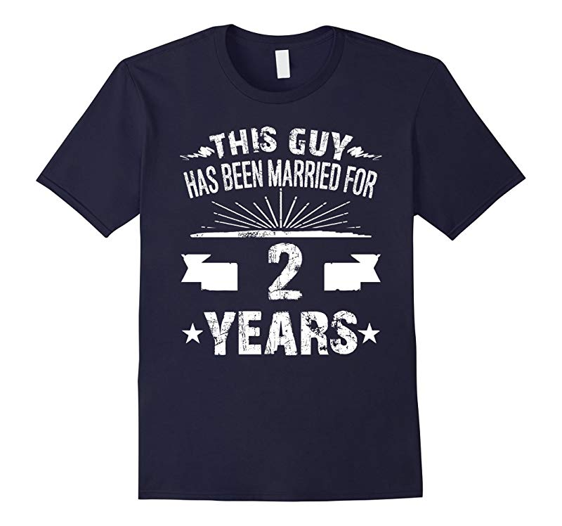 2nd Wedding Anniversary Gifts 2 Year Shirt For Him-RT