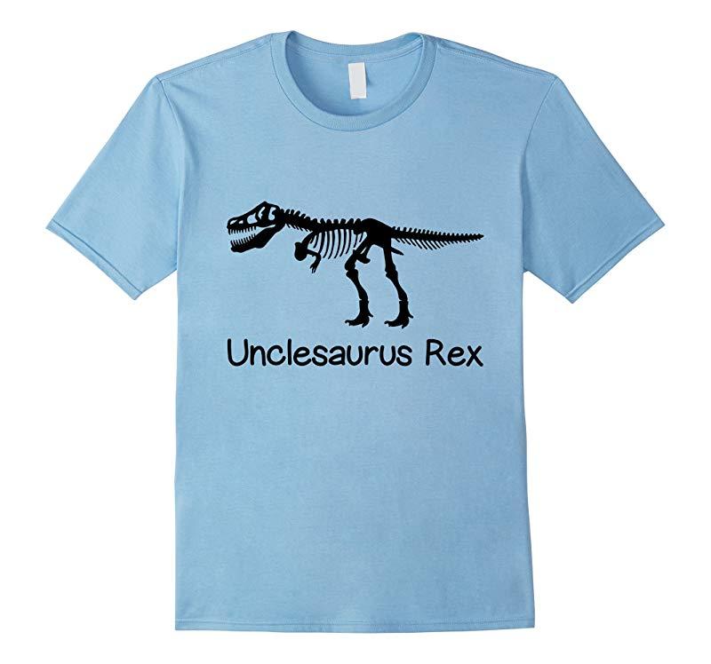 Men's Unclesaurus T Rex T-Shirt Uncle 's Day-CL