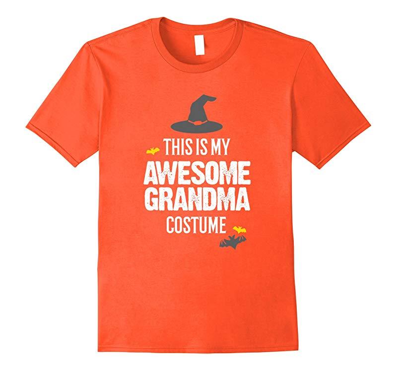 Awesome Grandma Halloween Costume T-Shirt-Art