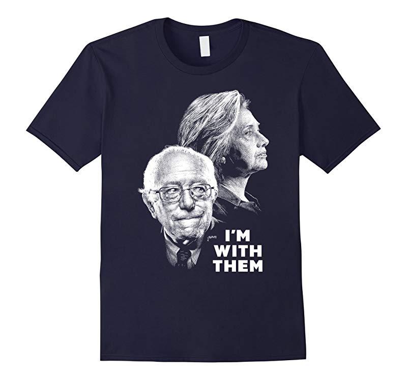 Hilary Clinton Bernie Sanders 2016 T-shirts-RT