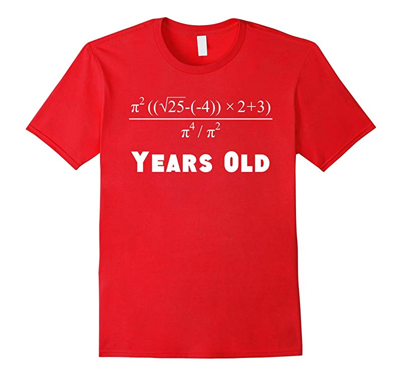 21 Years Old Algebra Equation Funny 21st Birthday Math Shirt-RT