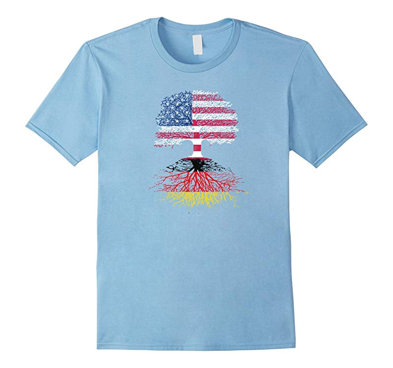 American Citizen with German Roots T-Shirt-CD